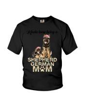 GAEA - German Shepherd Busy Mom 1704 Youth T-Shirt thumbnail