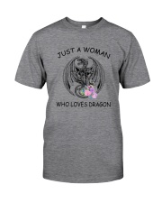 Dragon Love Woman 2104 Classic T-Shirt front