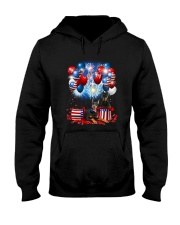 Doberman Pinscher Holiday D2105 Hooded Sweatshirt thumbnail