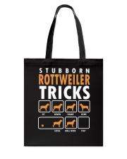 Rottweiler Trick Tote Bag thumbnail