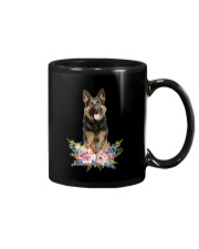 German Shepherd Loves Girl 0204 Mug thumbnail