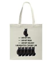 Black Cat Lucky 2305 Tote Bag thumbnail