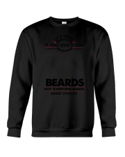 Beards Good Choices 2504 Crewneck Sweatshirt thumbnail