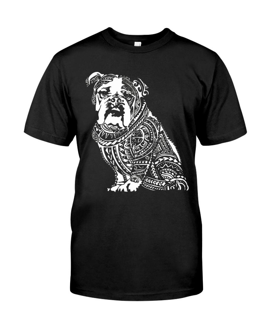 Bulldog Pattern 280218 Classic T-Shirt