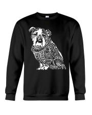 Bulldog Pattern 280218 Crewneck Sweatshirt thumbnail