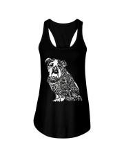 Bulldog Pattern 280218 Ladies Flowy Tank thumbnail