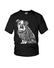 Bulldog Pattern 280218 Youth T-Shirt thumbnail