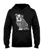 Bulldog Pattern 280218 Hooded Sweatshirt thumbnail