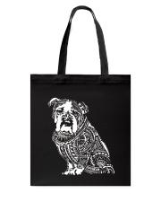 Bulldog Pattern 280218 Tote Bag thumbnail