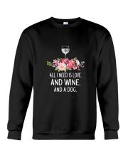 Wine And Dog 2304 Crewneck Sweatshirt thumbnail