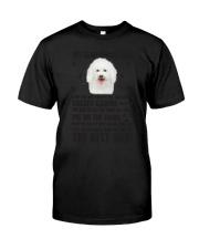 Bichon Frise Human Dad 0206 Classic T-Shirt thumbnail