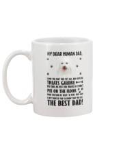 Bichon Frise Human Dad 0206 Mug back