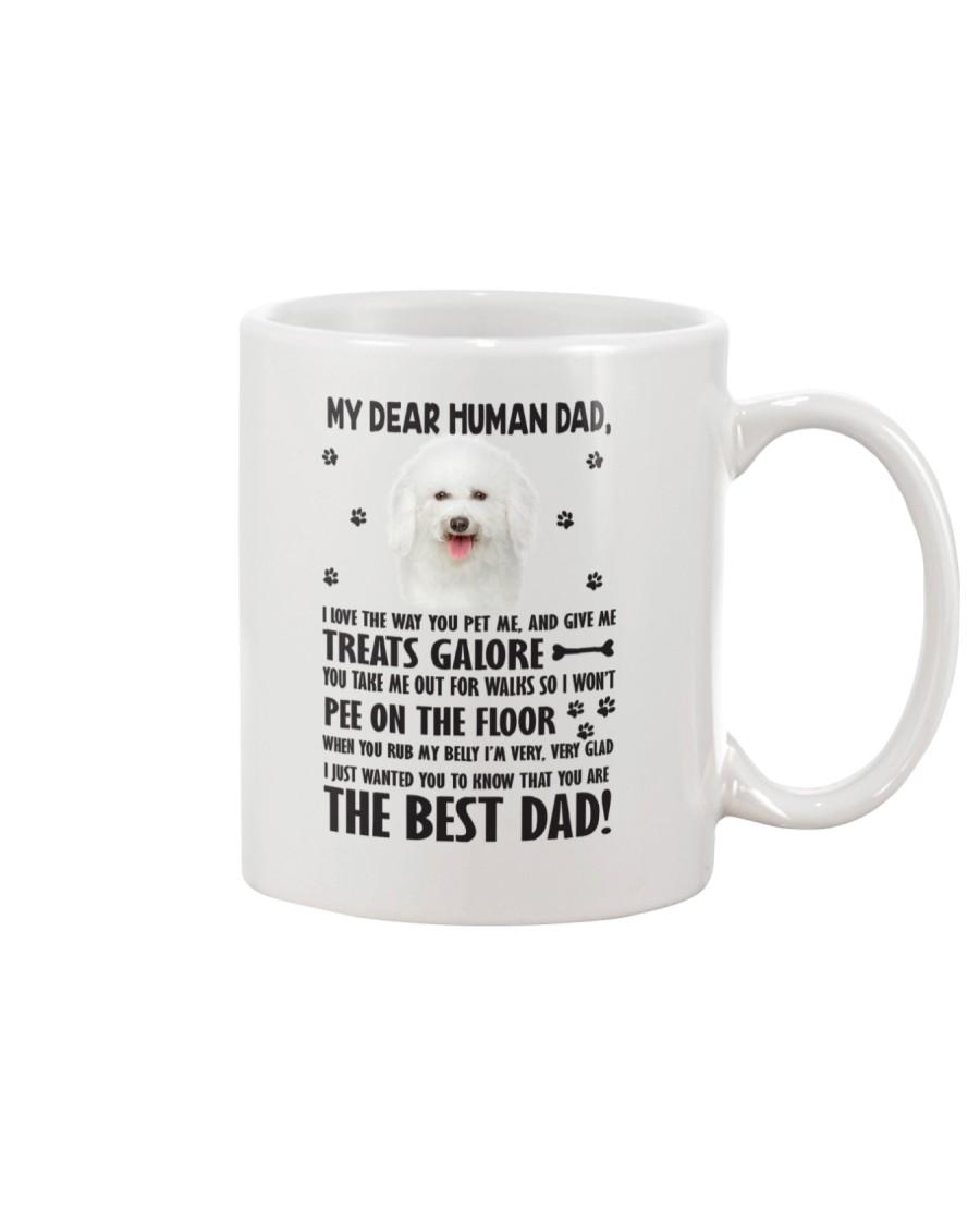 Bichon Frise Human Dad 0206 Mug