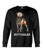 Rottweiler Bone Crewneck Sweatshirt thumbnail