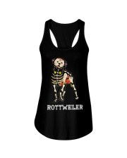 Rottweiler Bone Ladies Flowy Tank thumbnail