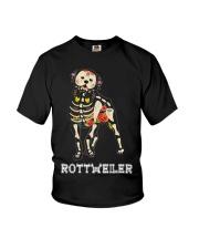 Rottweiler Bone Youth T-Shirt thumbnail