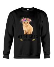 GAEA - Cats Around 1704 Crewneck Sweatshirt thumbnail