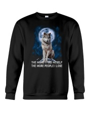 Wolf Find Myself 2905 Crewneck Sweatshirt thumbnail