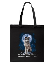Wolf Find Myself 2905 Tote Bag thumbnail