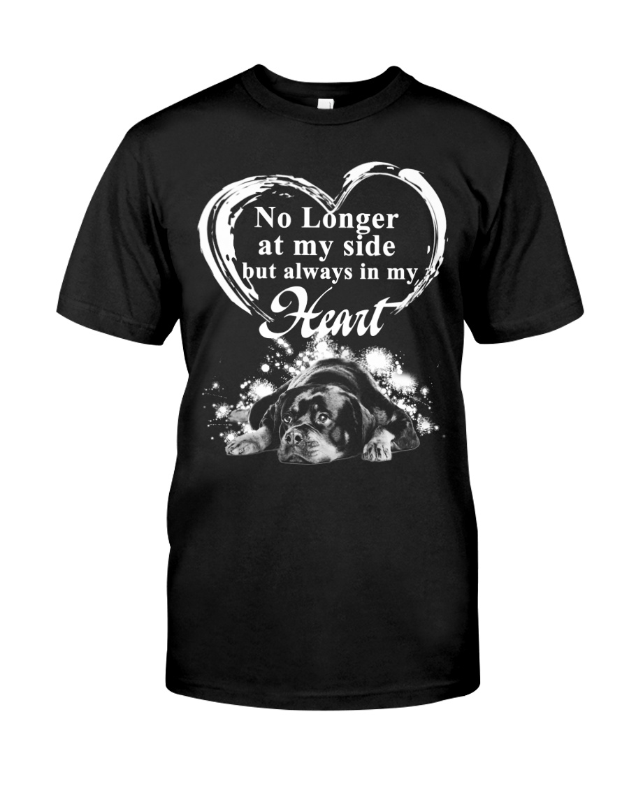 Rottweiler In My Heart Classic T-Shirt
