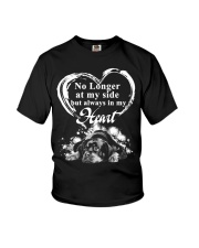 Rottweiler In My Heart Youth T-Shirt thumbnail