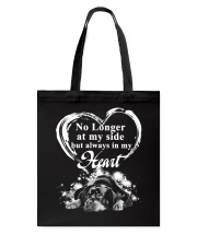 Rottweiler In My Heart Tote Bag thumbnail