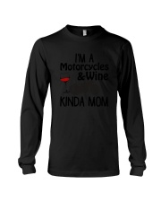 Motorcycles Kinda Mom 2304 Long Sleeve Tee thumbnail