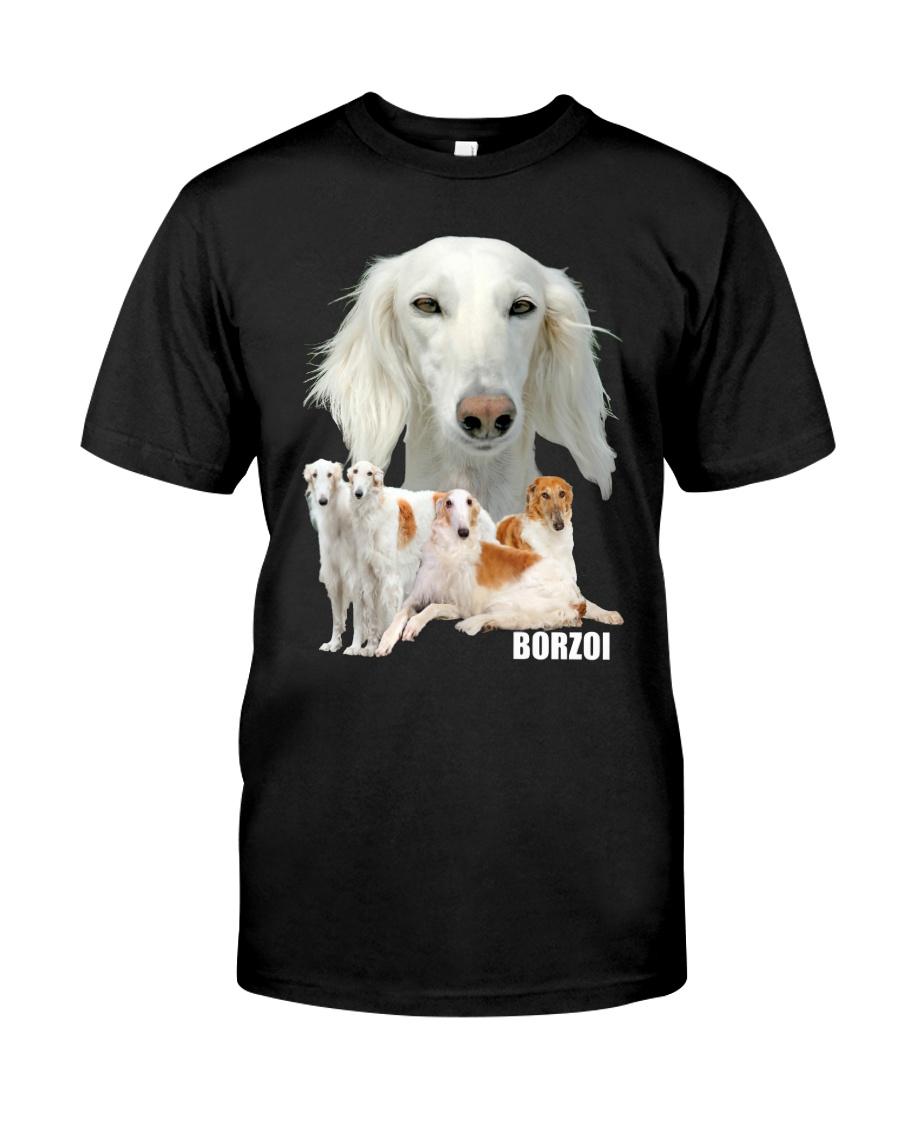 Borzoi Awesome Classic T-Shirt