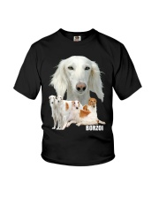 Borzoi Awesome Youth T-Shirt thumbnail