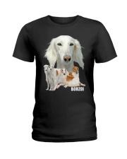 Borzoi Awesome Ladies T-Shirt thumbnail