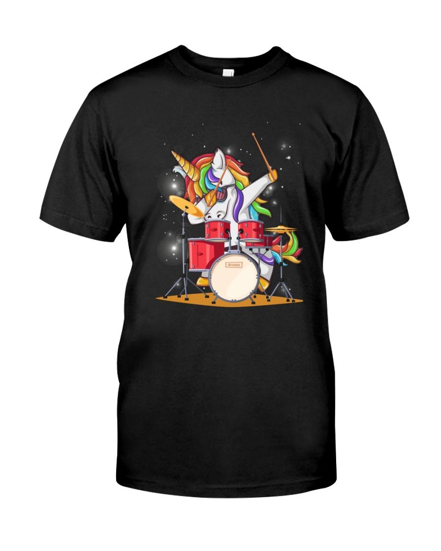 Unicorn Drums 2604 Classic T-Shirt