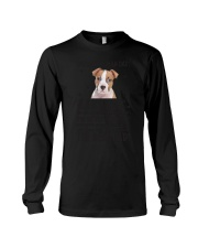 American Staffordshire Terrier Dear Human Dad 0106 Long Sleeve Tee thumbnail