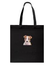 American Staffordshire Terrier Dear Human Dad 0106 Tote Bag thumbnail