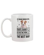 American Staffordshire Terrier Dear Human Dad 0106 Mug back