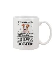 American Staffordshire Terrier Dear Human Dad 0106 Mug front