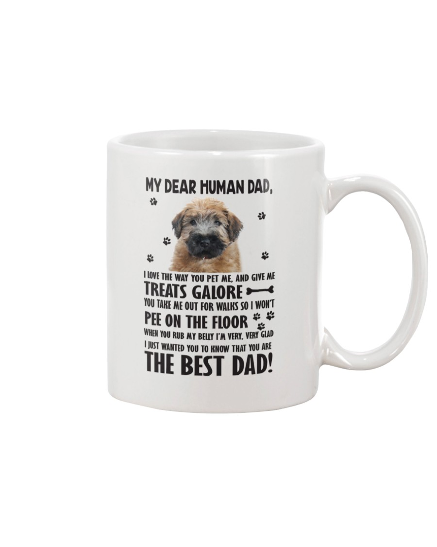 Soft Coated Wheaten Terrier Human Dad 0406 Mug