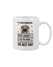 Soft Coated Wheaten Terrier Human Dad 0406 Mug thumbnail