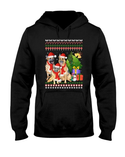 ZEUS - German Shepherd Merry Christmas - A21