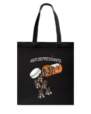 German Shepherd Anti Tote Bag thumbnail