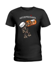 German Shepherd Anti Ladies T-Shirt thumbnail