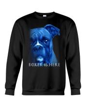 Boxer Is Here Crewneck Sweatshirt thumbnail