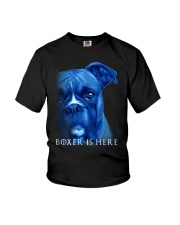 Boxer Is Here Youth T-Shirt thumbnail