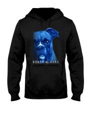 Boxer Is Here Hooded Sweatshirt thumbnail