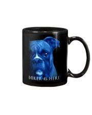 Boxer Is Here Mug thumbnail