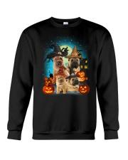 Gaea - Shar Pei Halloween - 1608 - 51 Crewneck Sweatshirt thumbnail