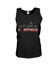 Rottweiler Heart Unisex Tank thumbnail