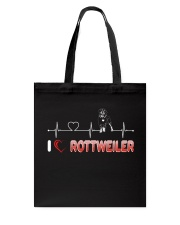 Rottweiler Heart Tote Bag thumbnail