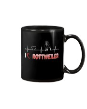 Rottweiler Heart Mug thumbnail