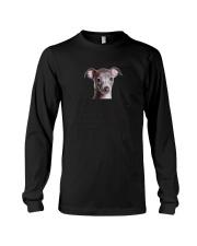 Italian Greyhound Human Dad 0206 Long Sleeve Tee thumbnail