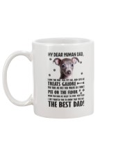 Italian Greyhound Human Dad 0206 Mug back